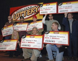 Winners from Nebraska Take Home $2.1 million each